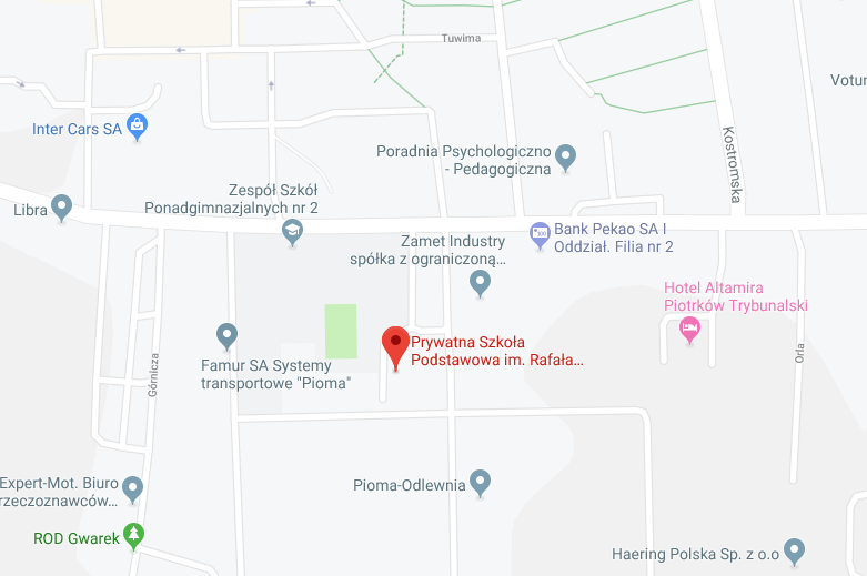 Kliknij aby przejść od Google Maps